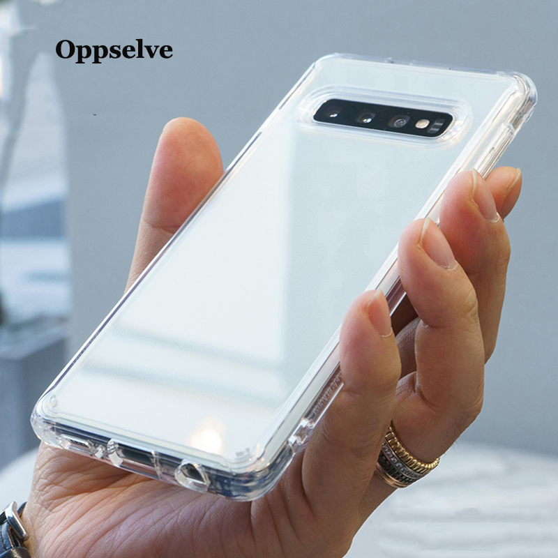 Case For <font><b>Samsung</b></font> Galaxy Note 9 8 S9 S8 S10 Plus <font><b>Capinhas</b></font> Clear Soft TPU Silicone Cover For <font><b>Samsung</b></font> S7 A20 <font><b>A30</b></font> A50 M20 M30 Coque image