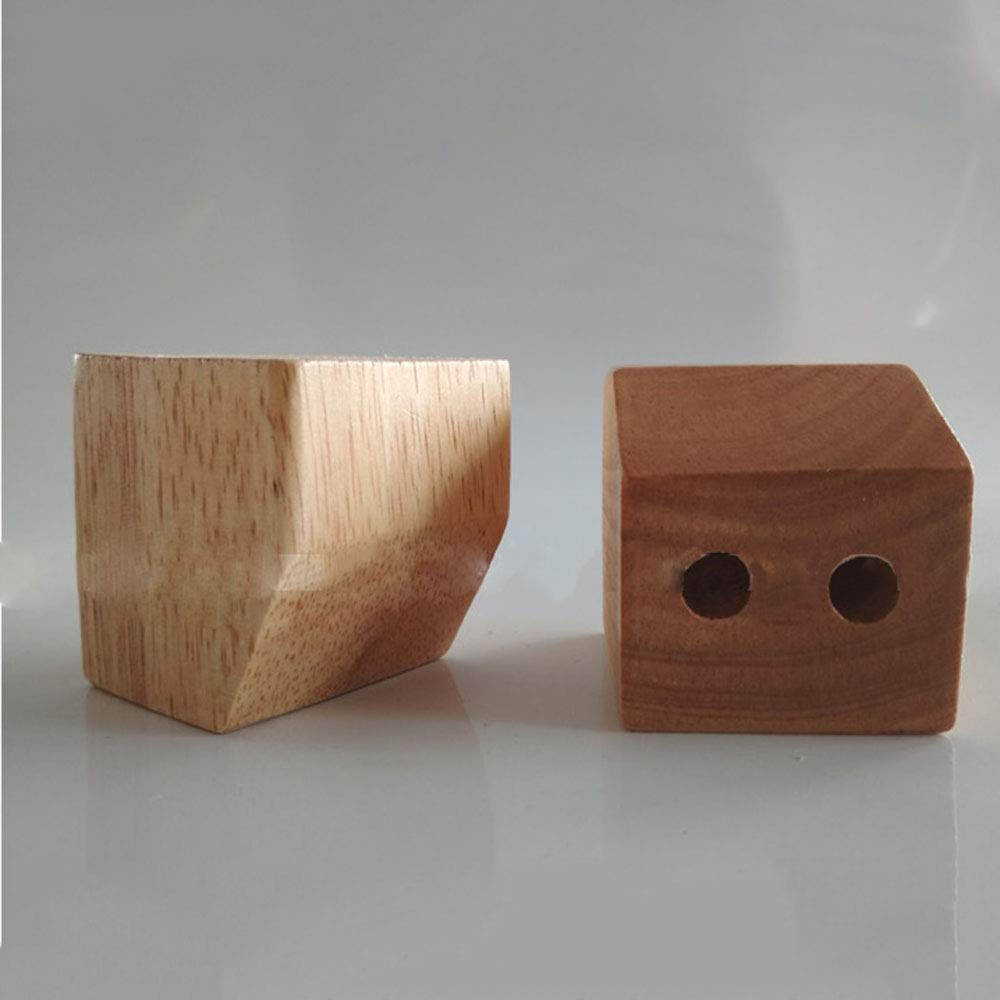 Solid Wood Sofa Legs Square Table Legs Tv /Cabinet/Footstool/Bed Support Feet Height 5.5cm 4 Pieces Legs Wood  Coffe Table