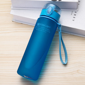 Image 5 - Warm Water Fles 800 Ml 1000 Ml Plastic Direct Drinken Fles School Water Flessen Shaker Fles Gourde En Plastique Sport