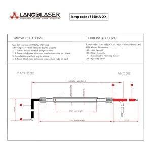 Image 4 - UK IPL lamp : 7*50*115F   cathode bend , Lamp code : F1404A , IPL Lamp for Keslaser head piece