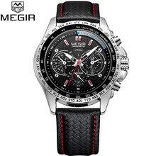 Megir Mens Watches Top Luxury Brand Male Clocks Military Arm