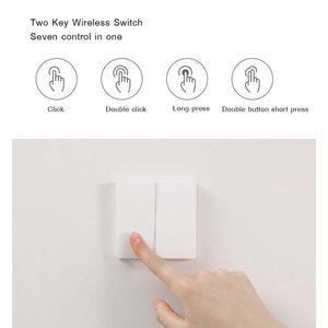 Image 4 - Aqara Wireless Key Update Version ZigBee Switch Smart Sensor for Mi Home App Smart Wall Wireless Switch Keys