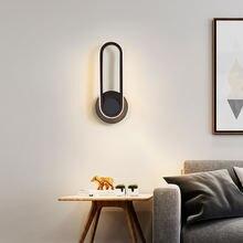 Современный минималистский вращающийся светодиодный настенный