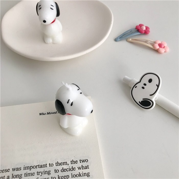 Peanuts Snoopy Mini Candle Party Supplies Candle Party Decoration Desktop Decoration Desktop Display Photo Shooting Projects