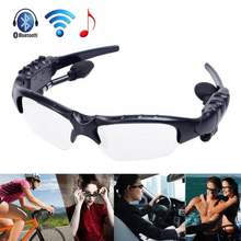 Smart Bluetooth Sunglasses Stereo Handsfree Headset MP3 Riding Eye Glasses Phone Bicycle Outdoor Sport Running Colorful Sun Lens