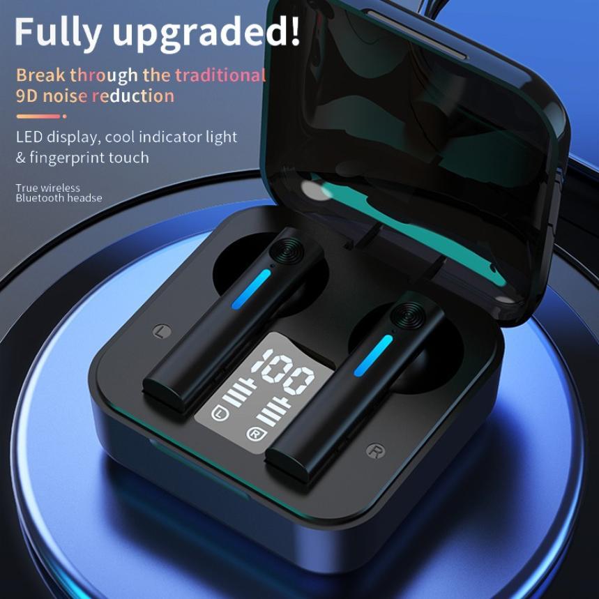 Новые наушники Bluetooth T13 Беспроводной наушники светодиодный наушники-вкладыши TWS с микрофоном наушники Шум отменить гарнитуры Earbuds21