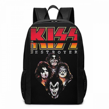 Kiss Backpack Ace Frehley From KISS Band Spaceman Makeup Backpacks Multi Function High quality Bag Man   Woman Travel Bags