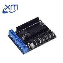 10 pièces/lot NodeMCU moteur bouclier conseil L293D pour ESP 12E de ESP8266 esp 12E kit bricolage rc jouet wifi rc voiture intelligente télécommande