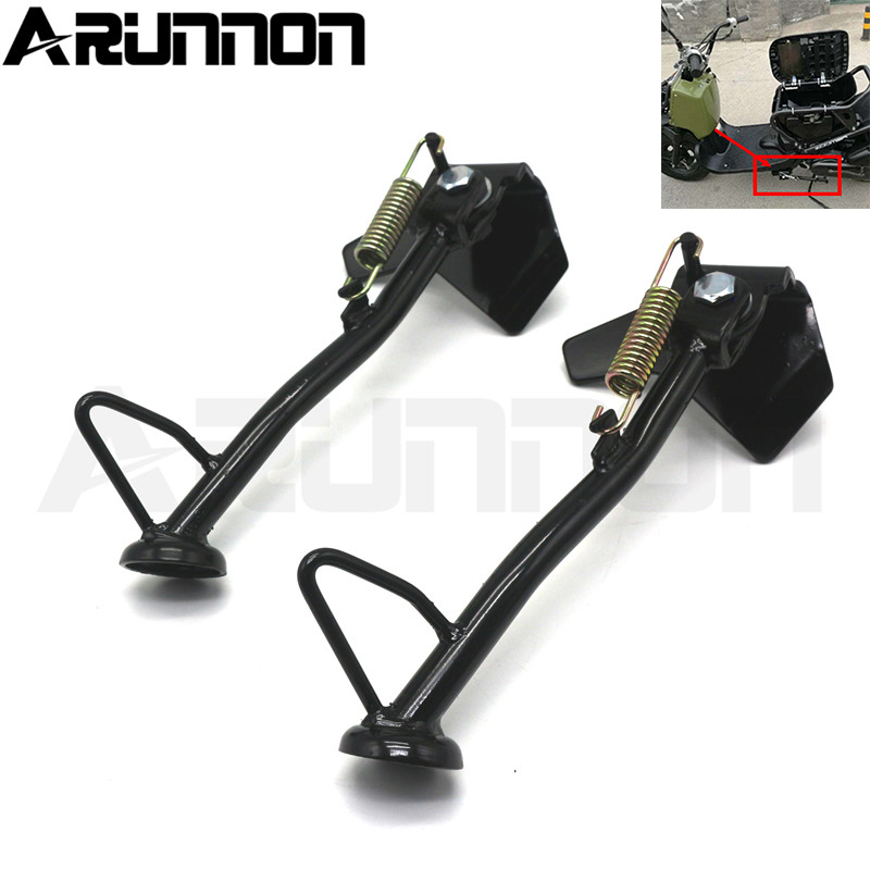 For <font><b>Honda</b></font> DIO <font><b>AF58</b></font> <font><b>ZOOMER</b></font> 50cc Motorcycle Accessories scooter Parking rack Side Support Side Kickstand Excellent iron image