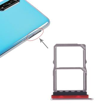 iPartsBuy SIM Card Tray + NM Card Tray for Huawei P30 ipartsbuy sim card tray nm card tray for huawei p30