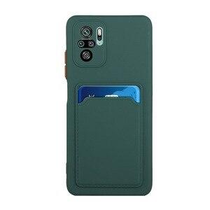 Image 3 - Funda protectora para cámara, carcasa a prueba de golpes con ranura para tarjeta, Color caramelo, para Redmi Note 10 Pro Max Note 10 5G 10S K40 Pro Xiaomi POCO F3 Mi 10S