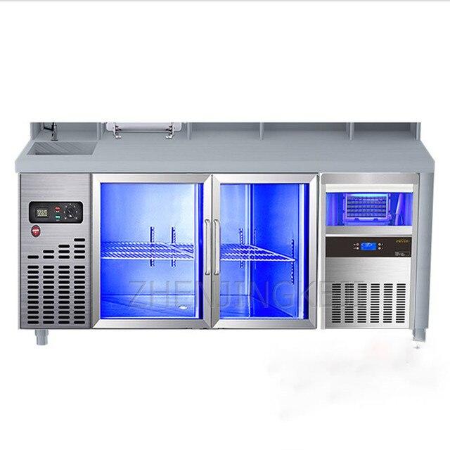 Фото полностью автоматическая льдогенератор все в одном небольшой цена