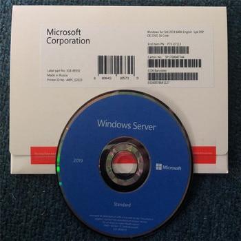 Microsoft Windows Server Standard 2019 64 Bit English OEI DVD 16 Core 5 Devices CAL по microsoft windows 10 pro rus 32bit dvd 1pk dsp oei id316631 fqc 08949 l