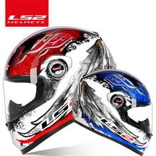 LS2 Clown full face motorcycle helmet ls2 FF358 motocross racing man woman casco