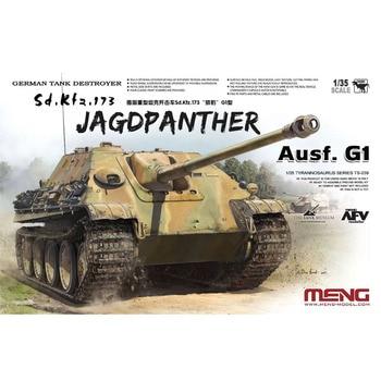 Meng TS-039 1/35 Sd.Kfz.173 Jagdpanther Ausf.G1 German Cheetah Display Toy Plastic Assembly Model Kit