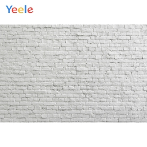 White Brick Wall Vintage Backdrop Vinyl Photography Backdrops Photographic Background For Photo Studio Photophone Photozone Prop
