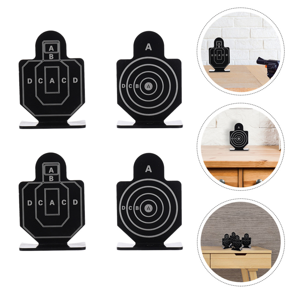 2 Boxes of 8Pcs Shooting Train Targets Indoor Entertainment Targets Metal Target