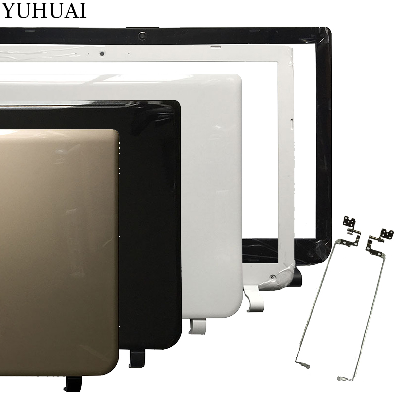 New For <font><b>TOSHIBA</b></font> <font><b>L50</b></font>-B L55-B Rear Lid TOP case laptop LCD Back <font><b>Cover</b></font>/LCD Bezel <font><b>Cover</b></font>/LCD hinges L&R image