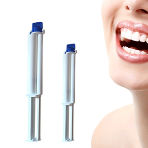 Image 5 - 10 pieces 35% Hydrogen peroxide dual barrel syringe teeth bleahcing gel oral cleaning care kit tooth whitening gel