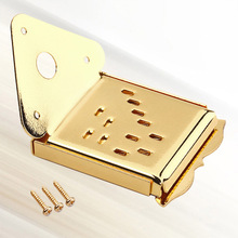Mandolin Tailpiece Guitar with Screws for Golden Metal