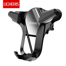 Licheers Car Phone Holder for iPhone XS X 8 7 7 8 Plus Air V