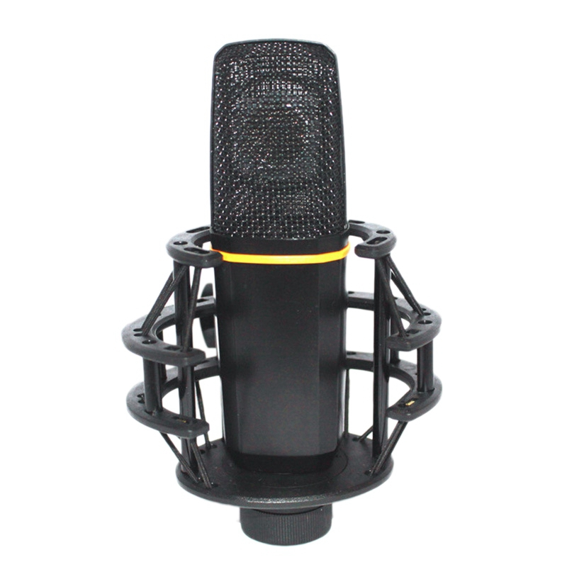 Condenser Microphone Over Anti Vibration Impact Bracket Professional Studio Microphone For Recording,Instrument,Stage,Ktv,Home