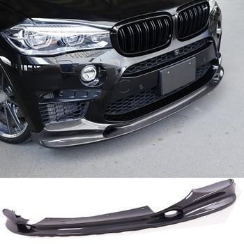 3-D Style Carbon fiber Front Lip Spoiler Auto Body Fit For BMW F85 X5M F86 X6M