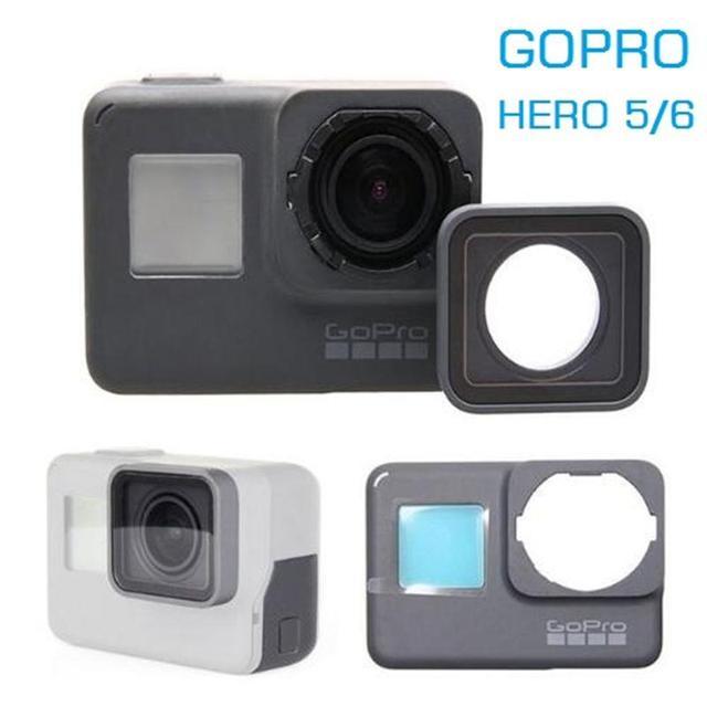 For GoPro Hero 4 5 7 8 Original Accessories GoPro Camera Frame/Front Door/Faceplate/Panel/UV Filter Glass Lens/Battery Cover Bag