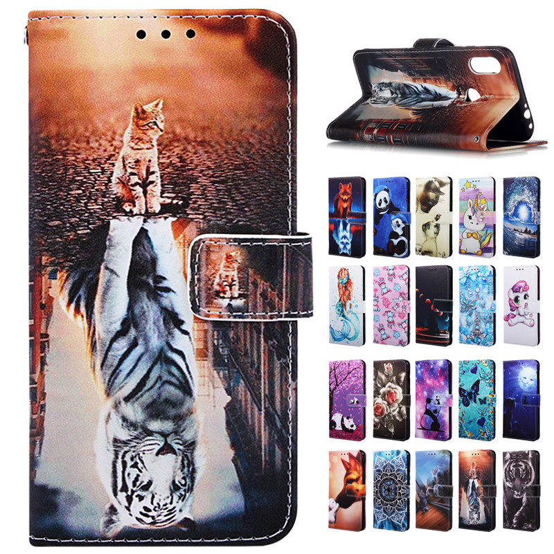 redmi note 7 case for Xiaomi Redmi Note 7 Case Cover Luxury Animal Wallet Leather Flip Cases sFor Xiaomi Redmi Note7 Coque