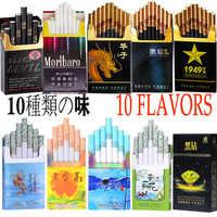 ¡Oferta! 10 cigarrillos de sabor mezclado flavornew para hombres y mujeres no contienen nicotina ni tabaco