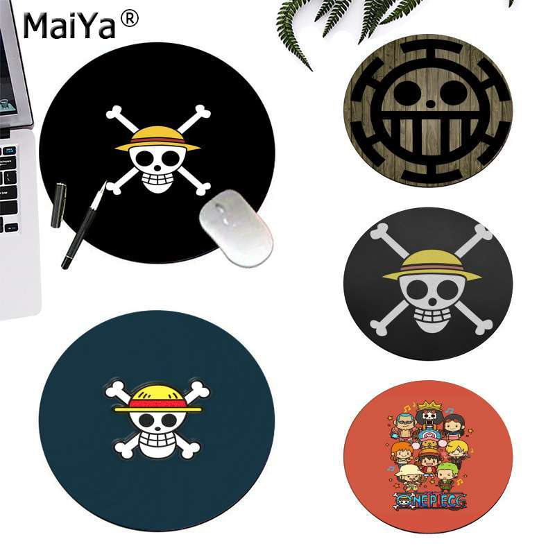 MaiYa Custom Skin <font><b>One</b></font> <font><b>Piece</b></font> Luffy Anime Unique Desktop <font><b>Pad</b></font> Game Lockedge Mousepad gaming Mousepad Rug For PC Laptop Notebook image