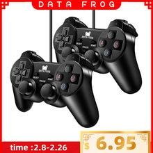 Проводной usb игровой контроллер data frog для ПК компьютера
