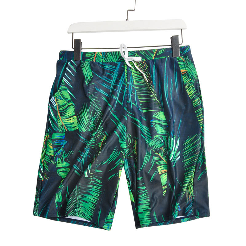Couples MEN'S Beach Pants Casual Slimming Loose-Fit Holiday Seaside Comfortable Swimming Trunks