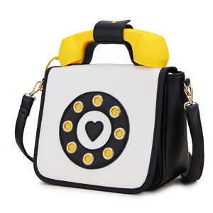 Image 3 - トレンディ電話デザイングラデーションカラーpu女性のショルダーバッグトートクロスボディのメッセンジャーバッグカジュアルハンドバッグボルサ財布フラップ