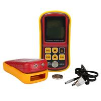 GM100 Digital LCD Metal Thickness Gauge Measuring Instruments 1.2 To 200MM Sound Speed Meter Ultrasonic Display