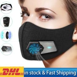 Herbruikbare Intelligente Stofdicht Elektrische Masker Luchtzuiverende Met Ademend Ventiel PM2.5 Werkplek Verse Luchttoevoer Anti-Pollutio