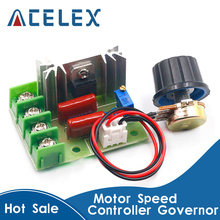 Governor-Module Dimmers Motor-Speed-Controller W/potentiometer 2000W 220V AC SCR Voltage-Regulator