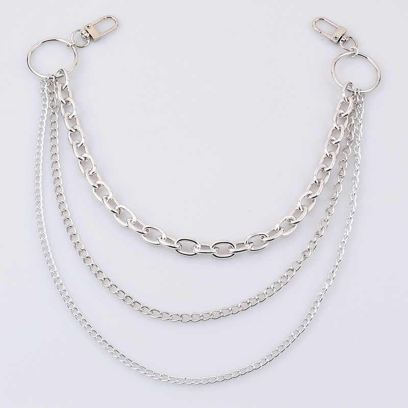 Dress Clothes Waist Chain Geometric Body Jewelry Silver Bronze Punk Body Jewelry