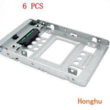 "6 шт 654540-001 аккумулятор большой емкости 2,"" до 3,5"" SATA SSD HDD адаптер 4/MicroServer Gen8 N54L N40L N36 f238f"