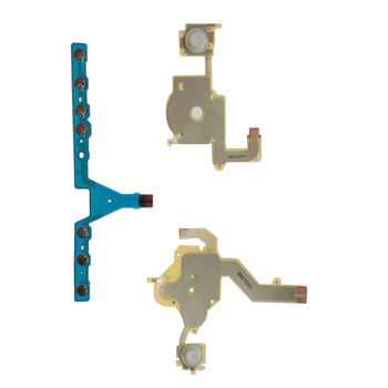 100 set Direction Cross Button Left Right Key Volume Flex Cable Replacement For Sony PSP 3000 Game Accessory