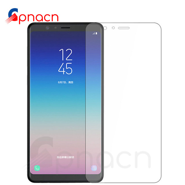Premium Tempered <font><b>Glass</b></font> For <font><b>Samsung</b></font> <font><b>Galaxy</b></font> <font><b>A3</b></font> A5 A7 2015 2016 <font><b>2017</b></font> A6 A8 Plus A9 2018 Screen Protector HD Protective Film Case image
