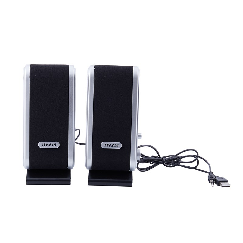 NEW 120W USB Power Desktop Computer Notebook Audio Speaker 3.5mm Earphone Jack