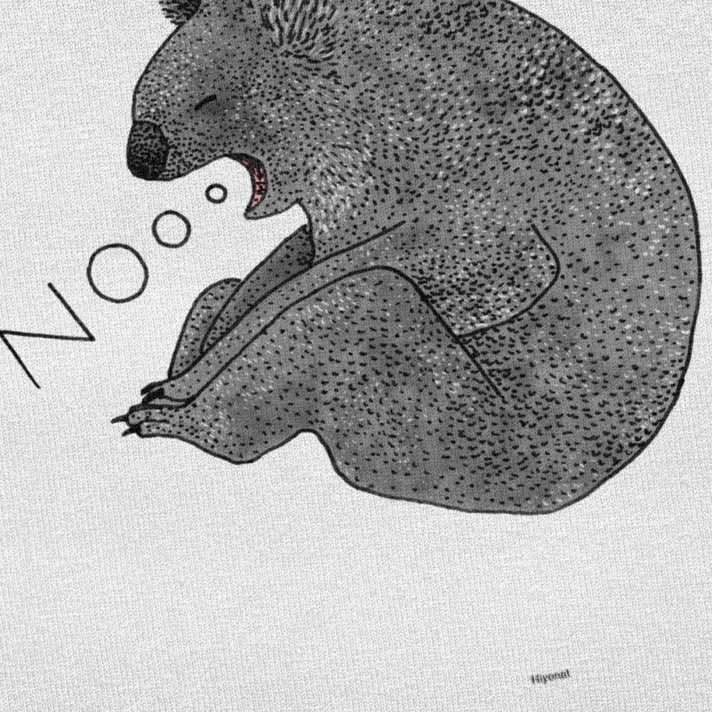 T-shirt Koala Illustré Créer Son T Shirt
