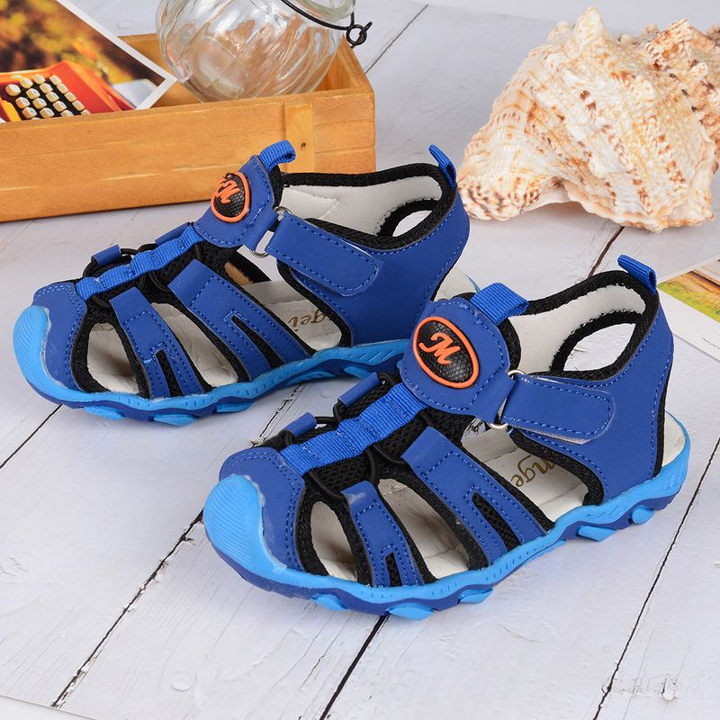 Children Casual Outdoor Sandals Closed Toe Boys And Girls Beach Sandals Summer Breathable Kids Shoes Sports Swimming Sandals