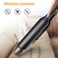 Car Vacuum Cleaner DC12V 4000Pa 5000Pa Wireless Handheld Desktop Home Car Interior Cleaning Mini Portable Auto Vaccum Cleaner