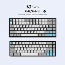 Mechanical-Gaming-Keyboard Mx-Switch Bluetooth Cherry AKKO Silent 68/84-Keys Computer-Gamer