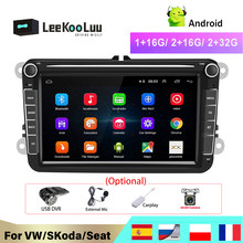 LeeKooLuu 2 Din Android Radio For VW /Volkswagen Skoda Superb Rapid Octavia Yeti Golf toureg passat B6 polo Jetta Car Multimedia