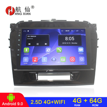 Car-Radio Gps Navigation Stereo Wifi Android Auto 2din for Suzuki Grand Vitara Audio