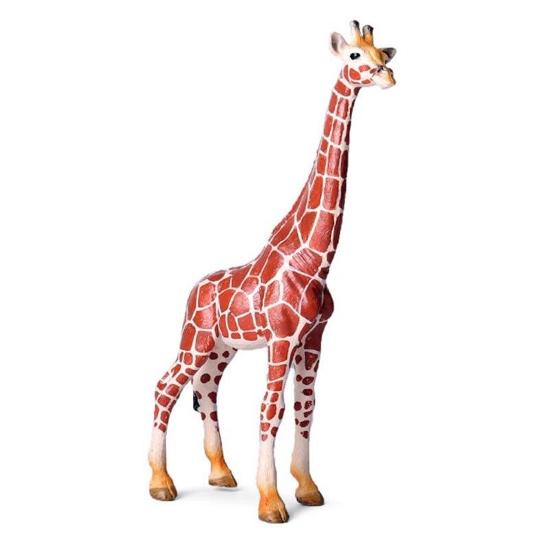 Realistic Giraffe Figurines Giraffe Model Family Educational Toy Safari Animals Figures