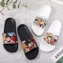 цены Men's Slippers 2020New Women Sneakers dragonball z shoes Japanese Anime Dragon Ball One-Piece luffy Naruto Son Goku figure
